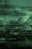 Het concept van de technologie & digitale kringen Stock Foto
