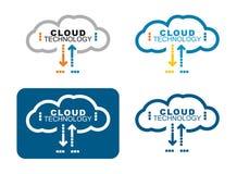 Het Concept van de Technologie van de wolk Stock Foto