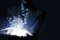 Het concept van de technologieintegratie Gemengde media Royalty-vrije Stock Afbeelding