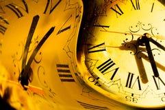 Het concept van de tijd stock illustratie