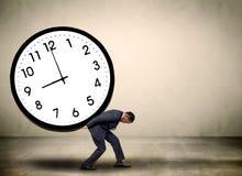 Het concept van de tijddruk Stock Afbeeldingen