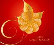 Het Concept van de valentijnskaart Stock Foto