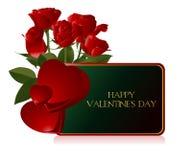 Het Concept van de valentijnskaart royalty-vrije illustratie