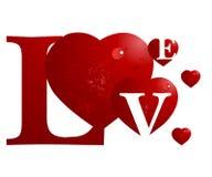 Het Concept van de valentijnskaart stock illustratie