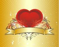 Het concept van de valentijnskaart (no.4) stock illustratie