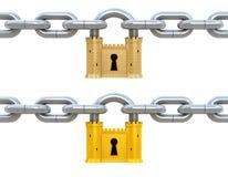 Het concept van de veiligheid Stock Foto