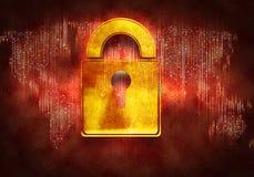 Het concept van de veiligheid Stock Afbeelding