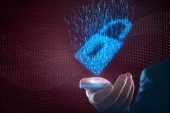 Het Concept van de Veiligheid van Cyber Royalty-vrije Stock Afbeeldingen