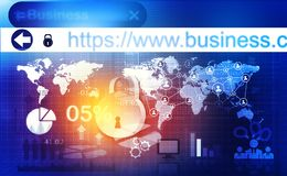 Het Concept van de Veiligheid van Cyber Royalty-vrije Stock Afbeelding