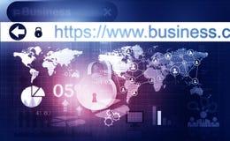 Het Concept van de Veiligheid van Cyber Stock Fotografie