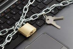 Het Concept van de Veiligheid van de computer Royalty-vrije Stock Foto