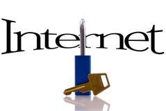 Het Concept van de Veiligheid van Internet royalty-vrije stock foto