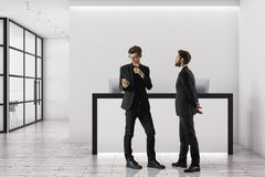 Het concept van de vergadering Stock Foto