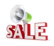 Het concept van de verkoop. Stock Foto's