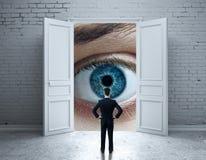 Het concept van de visie Stock Afbeeldingen