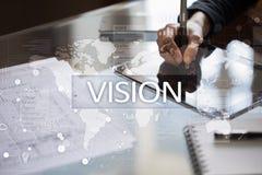 Het concept van de visie Zaken, Internet en technologieconcept royalty-vrije stock foto's