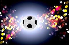 Het concept van de voetbal de industriesporten stock afbeeldingen