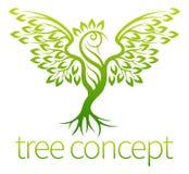 Het Concept van de vogelboom Stock Afbeelding