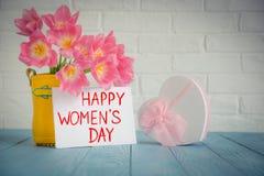 Het Concept van de vrouwen` s Dag Stock Foto