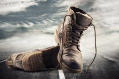 Het concept van de wandeling Stock Fotografie