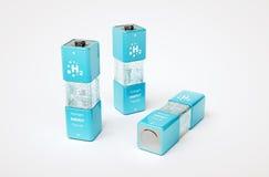 Het concept van de waterstofenergie Stock Foto