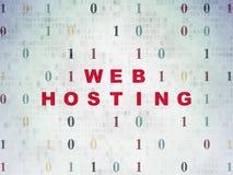 Het concept van de Webontwikkeling: Web het Ontvangen op Digitaal Stock Afbeeldingen