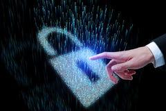 Het concept van de Webveiligheid Royalty-vrije Stock Fotografie