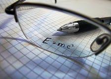 Het concept van de wetenschap - fysica Stock Afbeeldingen