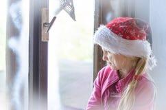 Het concept van de winterkerstmis royalty-vrije stock fotografie