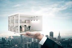 Het concept van de woonplaatseigenaar Stock Afbeelding