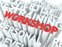 Het Concept van de workshop. Stock Fotografie