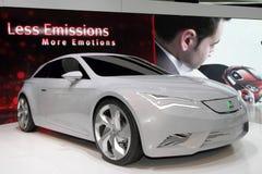 Het Concept van de zetel IBE - de Show van de Motor van Genève van 2010 Stock Foto's