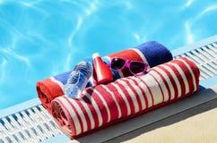 Het concept van de zomer samen Royalty-vrije Stock Foto's