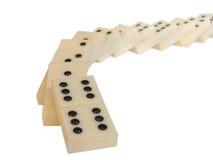 Het concept van domino's Royalty-vrije Stock Fotografie