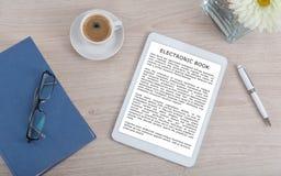 Het concept van Ebook stock fotografie