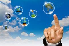 Het concept van Eco Stock Foto