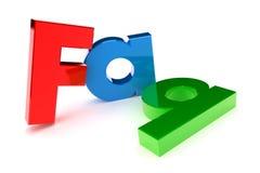Het Concept van Faq stock illustratie