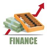 Het concept van financiën Stock Afbeeldingen