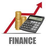 Het concept van financiën stock illustratie