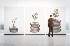 Het concept van financiën Royalty-vrije Stock Foto
