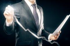 Het concept van financiën Stock Fotografie