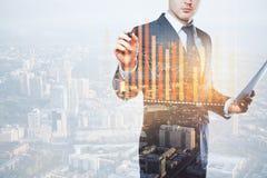 Het concept van financiën stock foto's