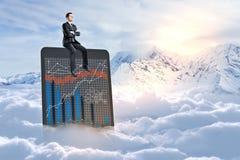 Het concept van financiën Stock Afbeelding