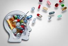 Het Concept van het geneeskundeonderwijs Stock Fotografie