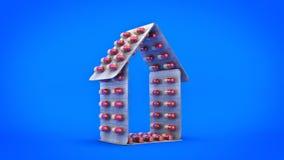 Het concept van geneeskundepillen Royalty-vrije Stock Afbeelding