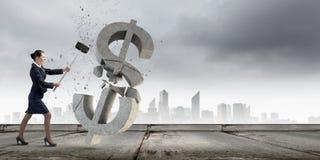 Het concept van het bankwezen Royalty-vrije Stock Afbeeldingen