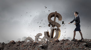 Het concept van het bankwezen Royalty-vrije Stock Foto's