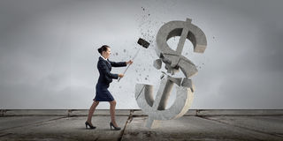 Het concept van het bankwezen Stock Fotografie