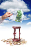 Het concept van het bankwezen stock afbeeldingen
