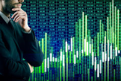 Het concept van het bankwezen Stock Foto